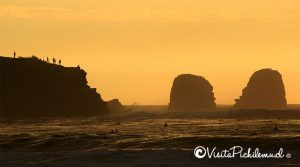 sunset at Punta de Lobos