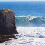 Waves in Pichilemu Chile