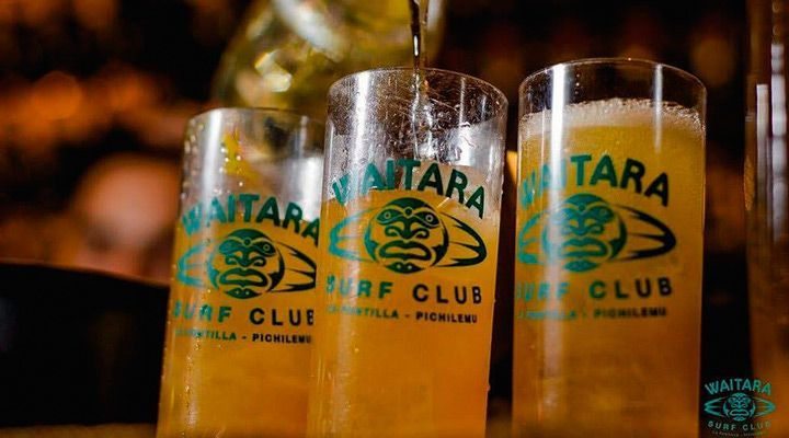 tragos waitara club pichilemu chile