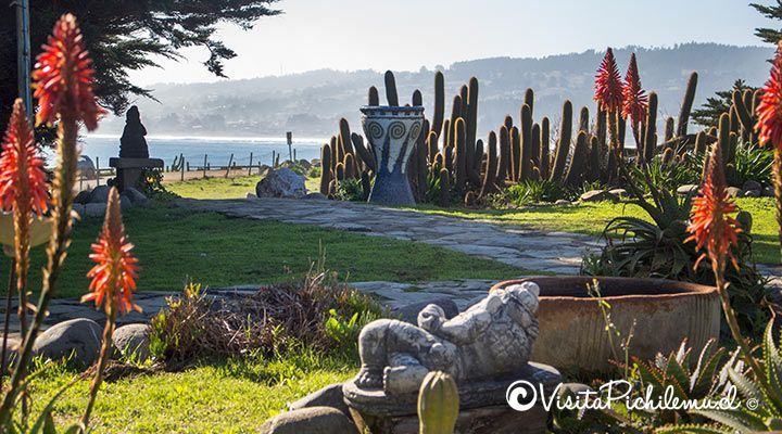 conviento garden overlooking the sea of ​​wolves, Punta de Lobos