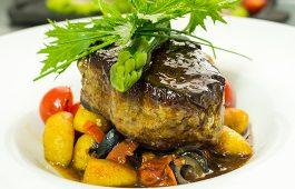 filete con ñoquis crescer o restaurante sal Pichilemu