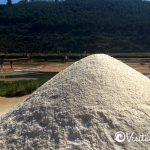 monticulo de sal de mar de cahuil