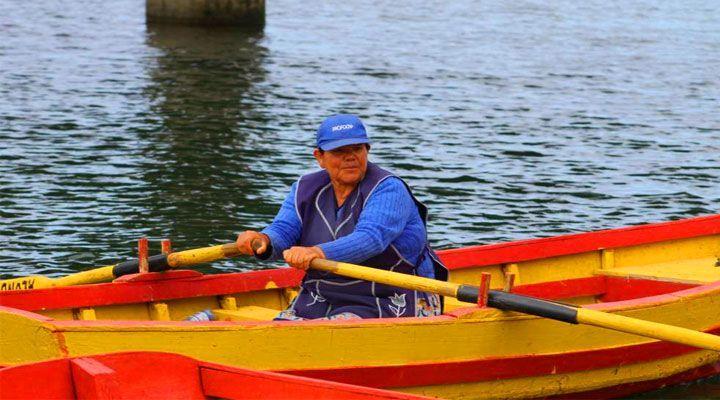 boatmen Cahuil