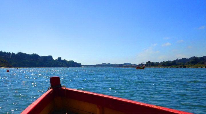 lagoon boat ride Cahuil