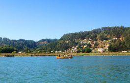 lagoa passeio de barco Cahuil Pichilemu