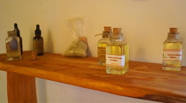 óleos de massagem terra bonita pichilemu spa