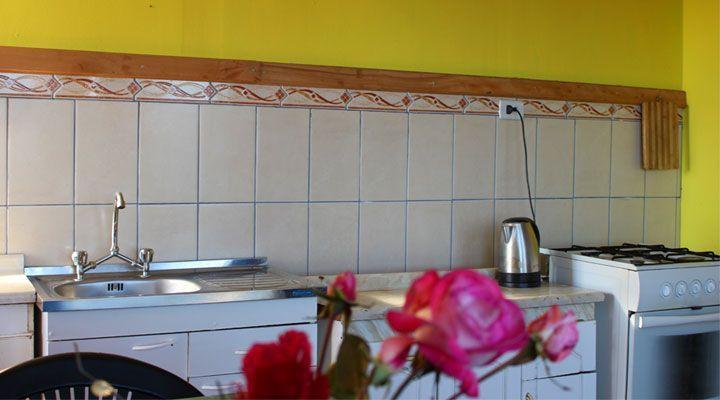 beautiful beach cabanas kitchen pichilemu