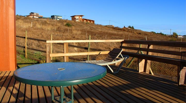 terrace beautiful beach cabanas pichilemu