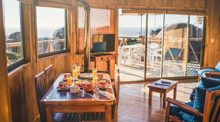 cúpulas pequeno-almoço Pichilemu