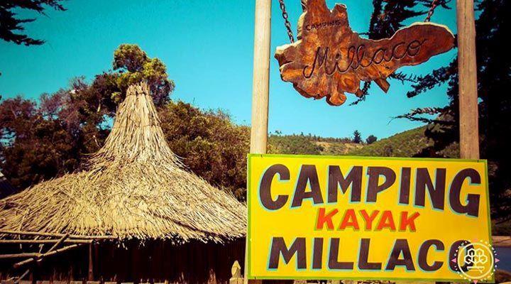 entrada camping millaco