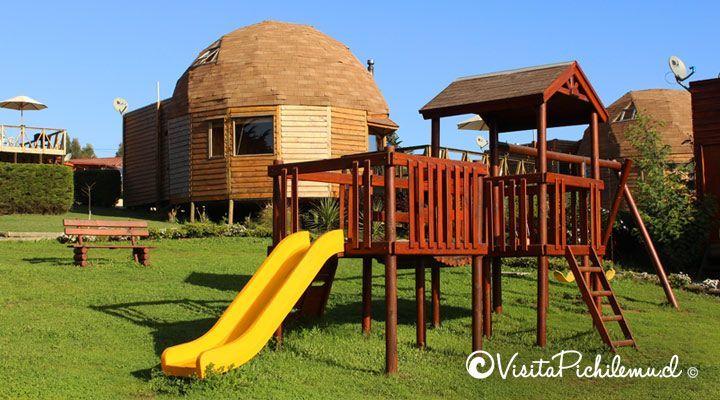 Pichilemu cúpulas parque infantil