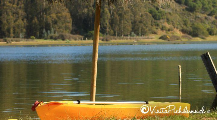 kayak camping millaco cahuil, pichilemu