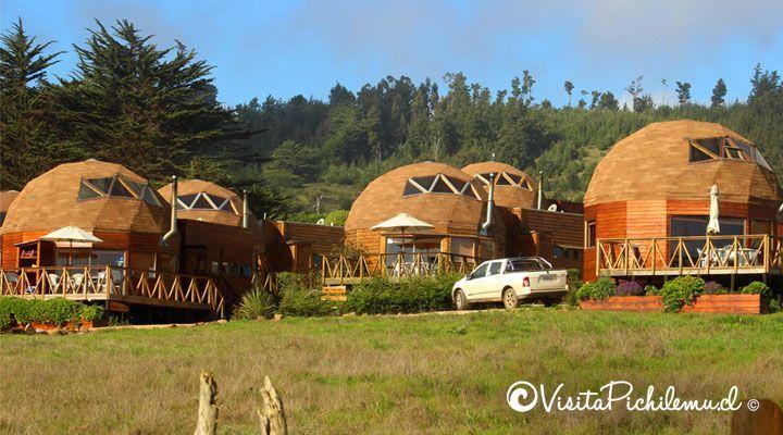 Pichilemu cúpulas bela praia Pichilemu