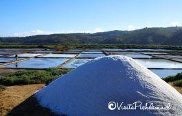 montículo de sal de Cahuil