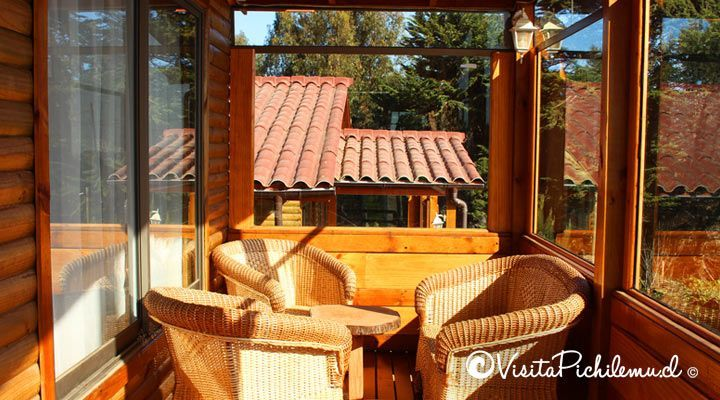 terraza cabanas wilann pichilemu