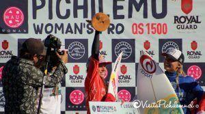 Sofia Mulanovich Primeira mulher pro Pichilemu 2016