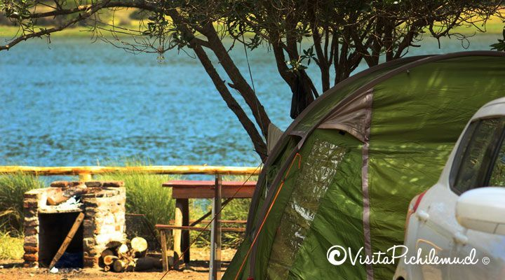 camping millaco cahuil
