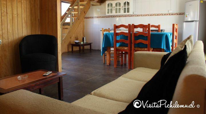 vivendo cabana de jantar 4 sal pessoas Cahuil