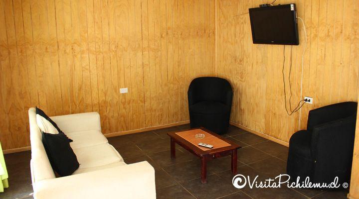 cabine interna para 4 Cabanas pessoas salinas