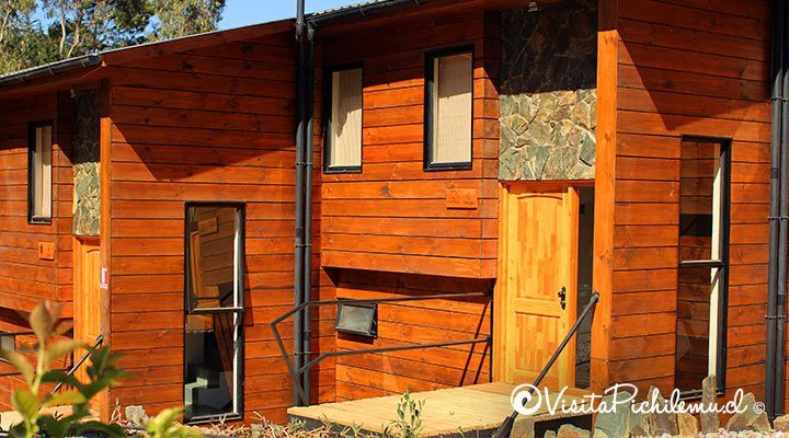cabanas and spa Patagonian coast pichilemu