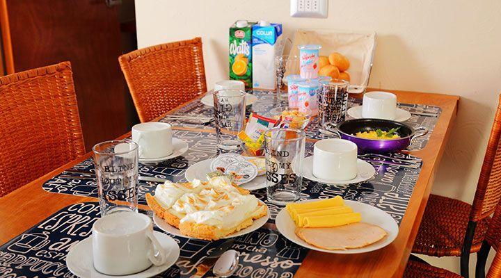 pichilemu costa Pequeno-almoço Continental Cabanas Patagonia