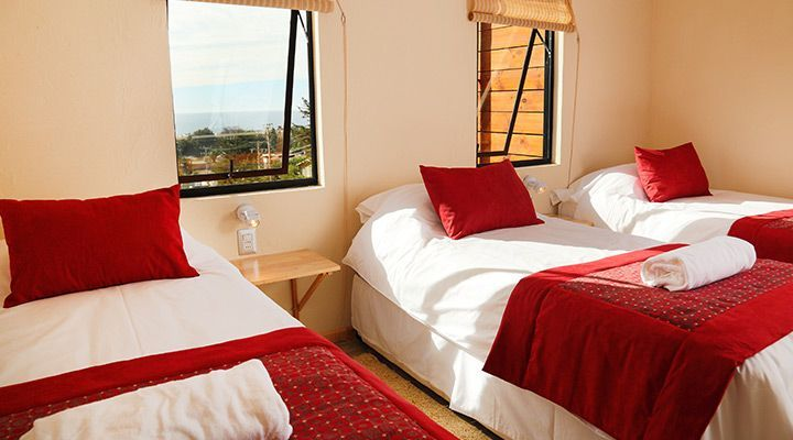 room for 3 Patagonia coast cabanas people pichilemu
