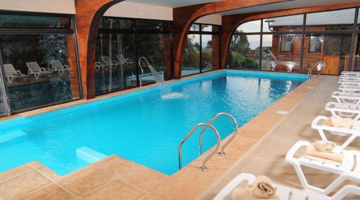 piscina temperada cabanas e spa costa Patagônia Pichilemu