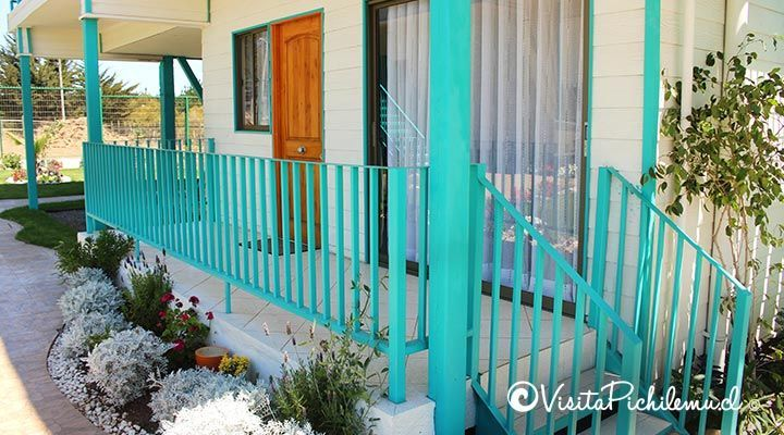 Marine departments apart hotel entrance pichilemu