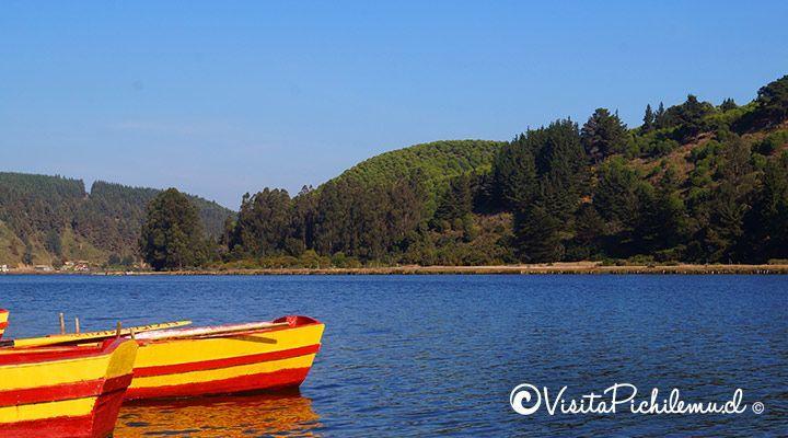 boats lagoon Cahuil