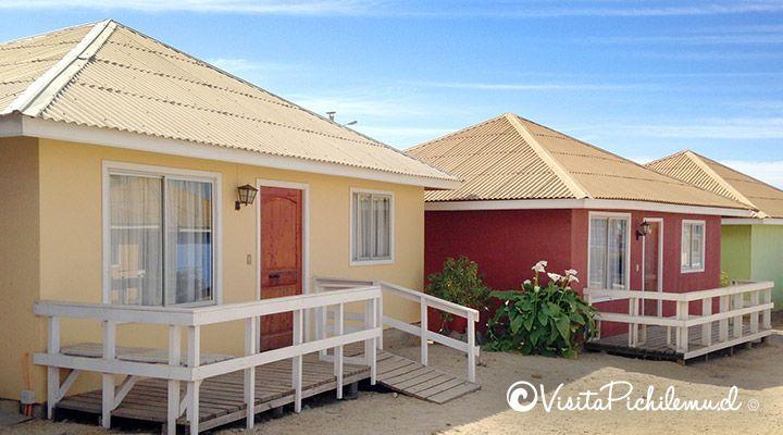 Santa Irene cabanas ao ar livre à beira-mar pichilemu