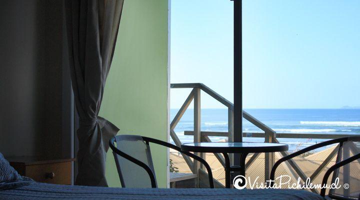 apartamento com vista para o mar de Santa Irene pichilemu