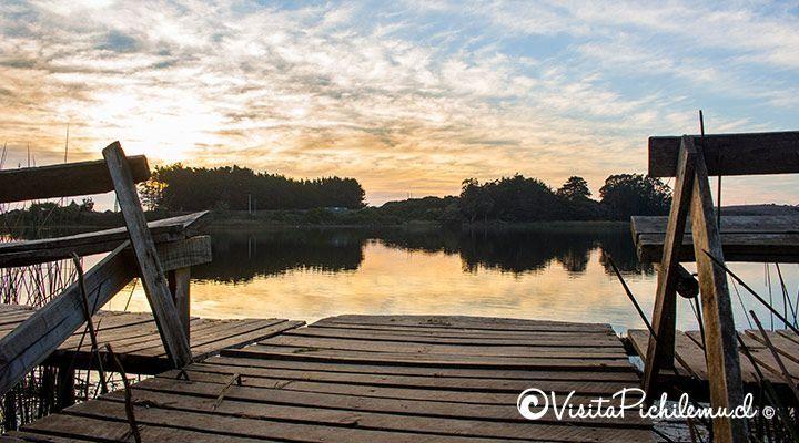 cão Cahuil acampamento do sol lagoa