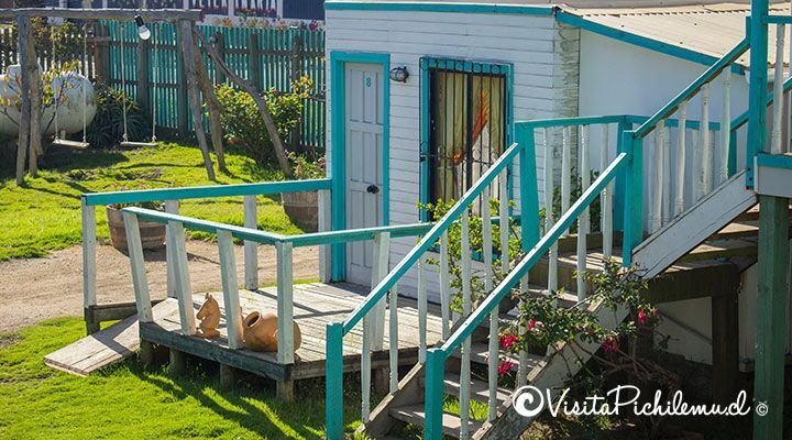 Disabled Accessible cabana doors sun pichilemu