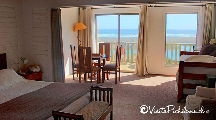 cabana for 4 People with sea view and Lyon guzman