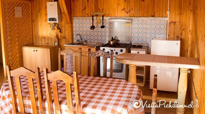 kitchen and dining cabanas doors sun pichilemu