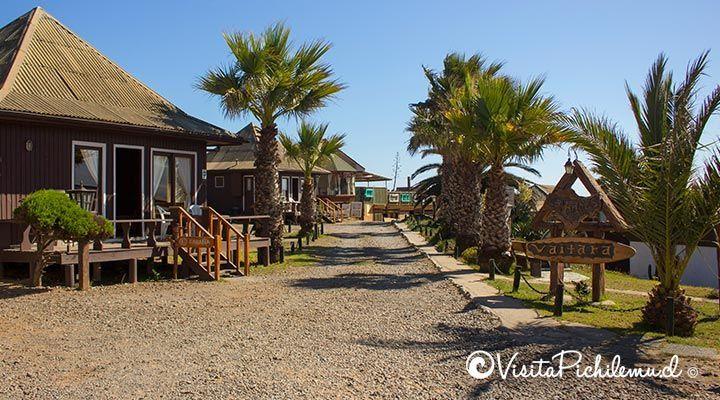 entrada cabanas waitara Pichilemu