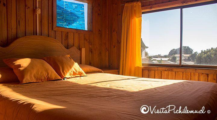 cabanas portas duplas quarto pichilemu sol