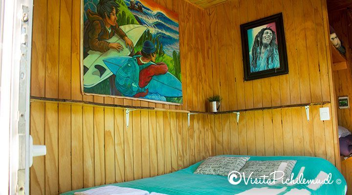 double bed, department 2 persons, the sirena insolente hostel