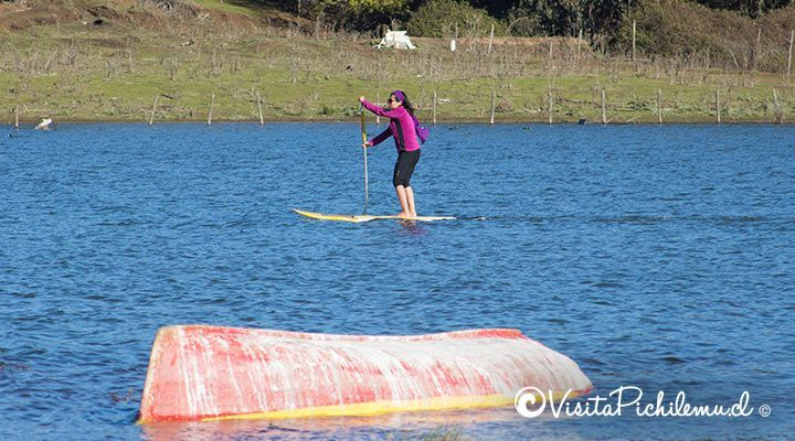 stand up paddle laguna de cahuil