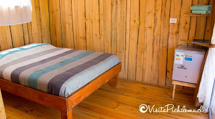 double bed suite 2 personas tangaroa lodge cahuil