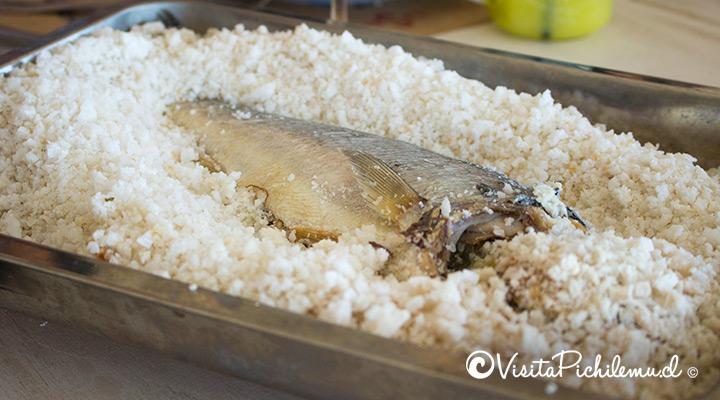 pescado a la sal restaurant la sal pichilemu