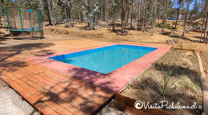 piscina tangaroa lodge cahuil
